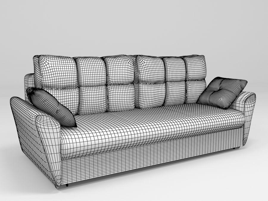 Divano Amsterdam 051 royalty-free 3d model - Preview no. 6