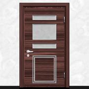 Деревянная дверь-4 3d model