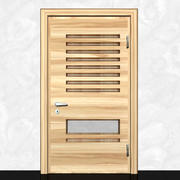 Drewniane drzwi-6 3d model