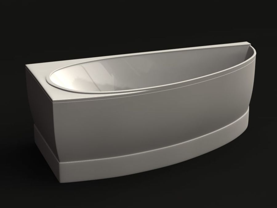 Canto para banho royalty-free 3d model - Preview no. 2