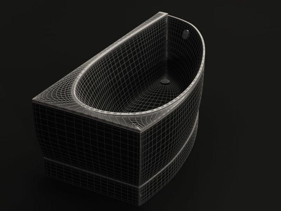 Canto para banho royalty-free 3d model - Preview no. 7