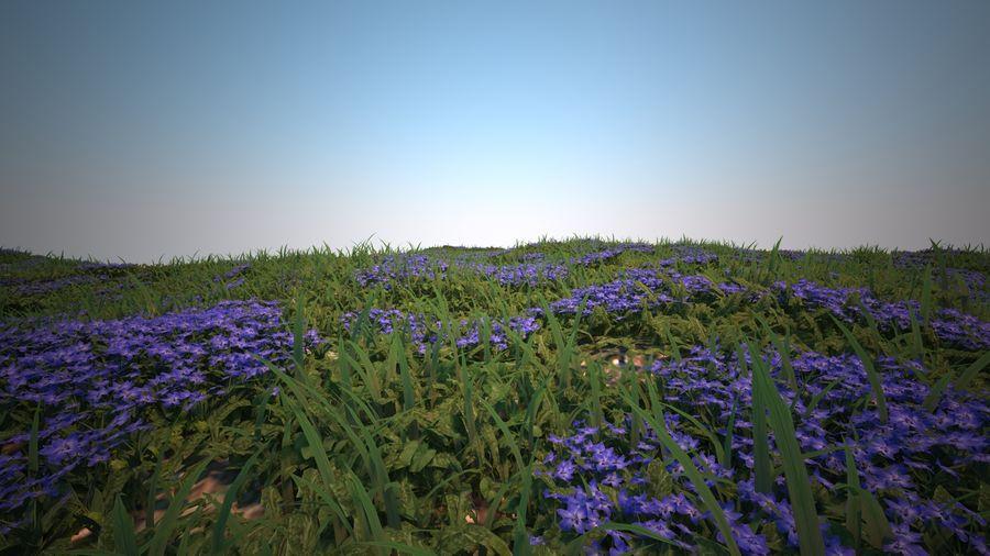 環境のための草と花 royalty-free 3d model - Preview no. 5