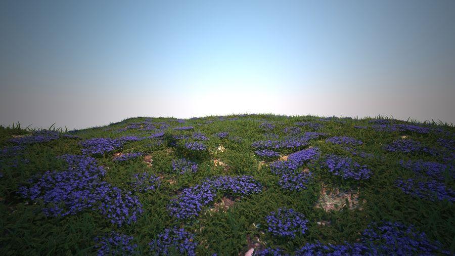 環境のための草と花 royalty-free 3d model - Preview no. 4