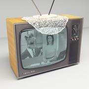 옛 소련 TV-소련 텔레비전 306 3d model