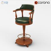 Origgi凯尔特吧椅 3d model