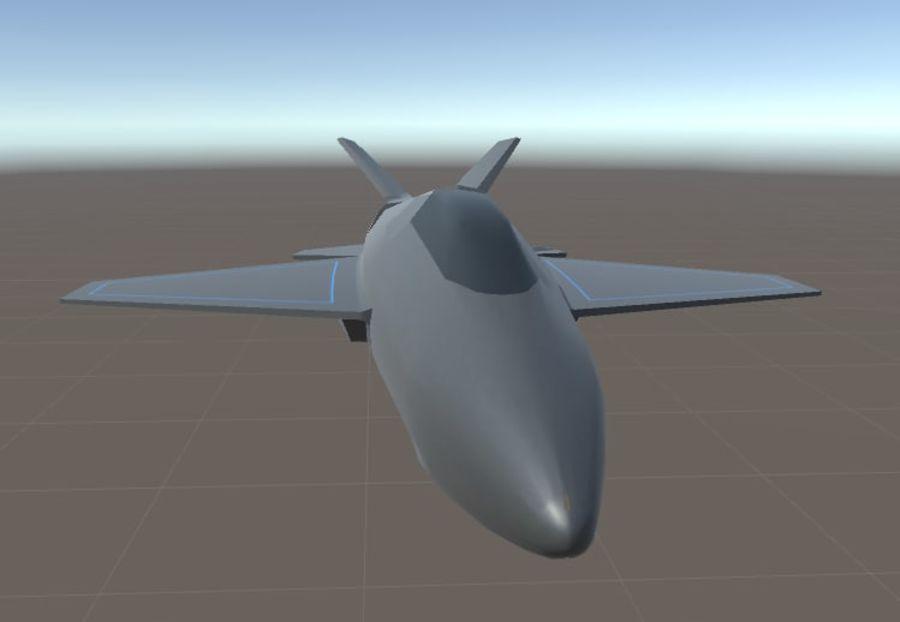Jet royalty-free modelo 3d - Preview no. 10