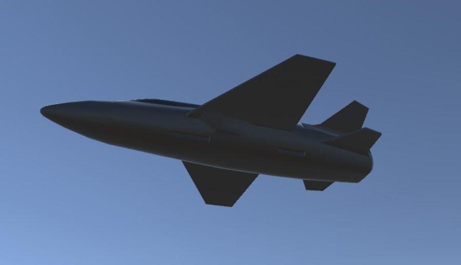 Jet royalty-free modelo 3d - Preview no. 17