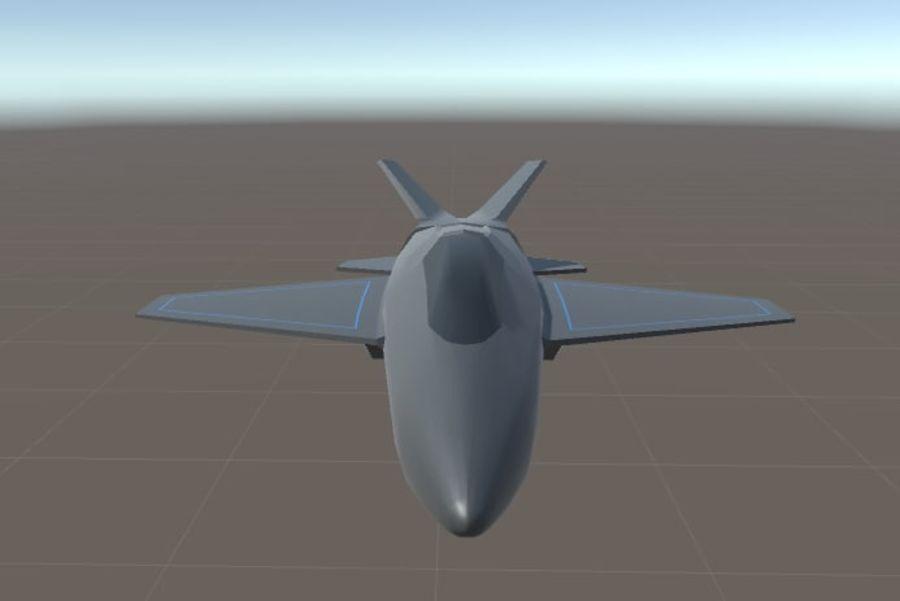 Jet royalty-free modelo 3d - Preview no. 14