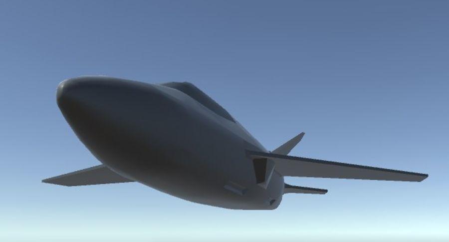Jet royalty-free modelo 3d - Preview no. 18