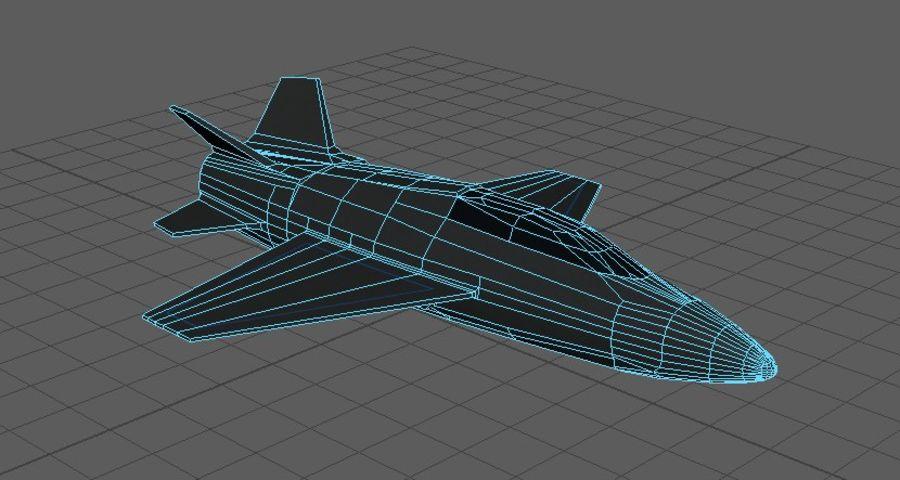 Jet royalty-free modelo 3d - Preview no. 6