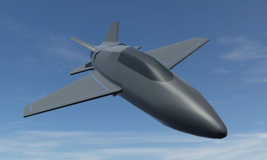 Jet royalty-free modelo 3d - Preview no. 1