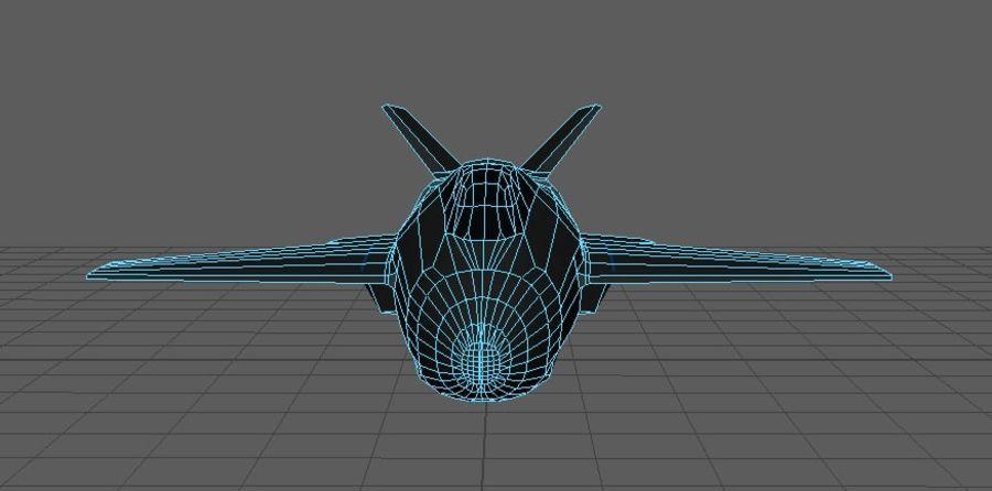 Jet royalty-free modelo 3d - Preview no. 5