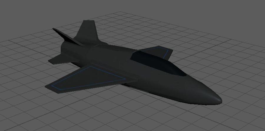 Jet royalty-free modelo 3d - Preview no. 7