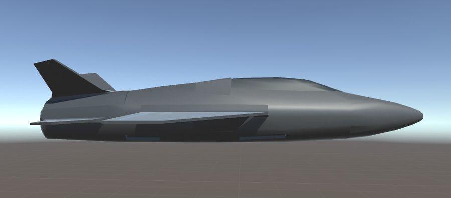 Jet royalty-free modelo 3d - Preview no. 12