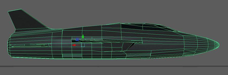 Jet royalty-free modelo 3d - Preview no. 3