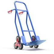 Diable monte-escalier à six roues 3d model