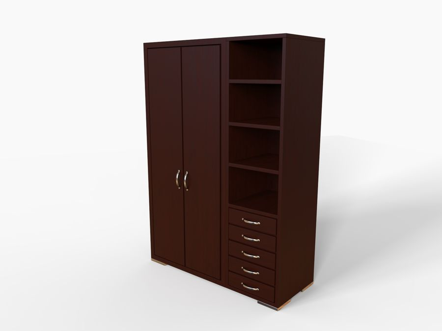 Armoire royalty-free 3d model - Preview no. 7