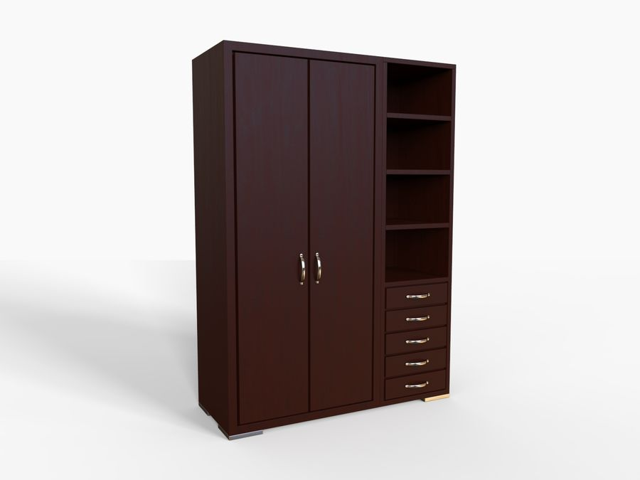Armoire royalty-free 3d model - Preview no. 6