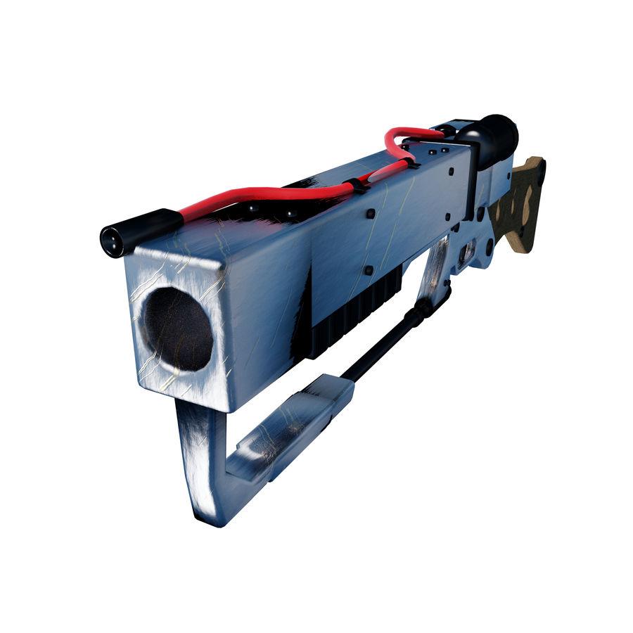 Futurystyczna broń royalty-free 3d model - Preview no. 3