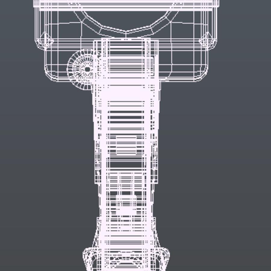 Futurystyczna broń royalty-free 3d model - Preview no. 6