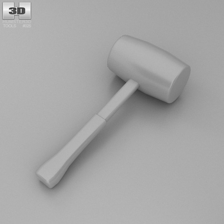 Lastik tokmak royalty-free 3d model - Preview no. 8