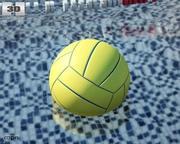 Bola de Polo Aquático 3d model