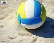 Palla da pallavolo 3d model