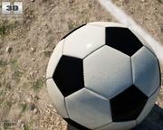 Pallone da calcio 3d model