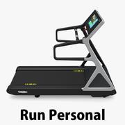 Technogym - Treadmill Run Personal 3d model