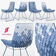Кресло Freifrau Amelie Юбилейное издание 3d model