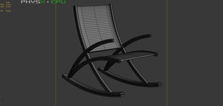 Wishbone gungstol royalty-free 3d model - Preview no. 13