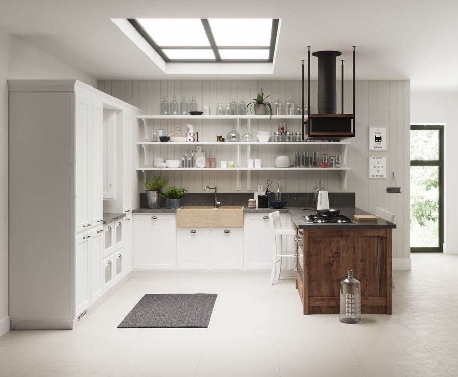 KEUKEN Scavolini 3 royalty-free 3d model - Preview no. 4