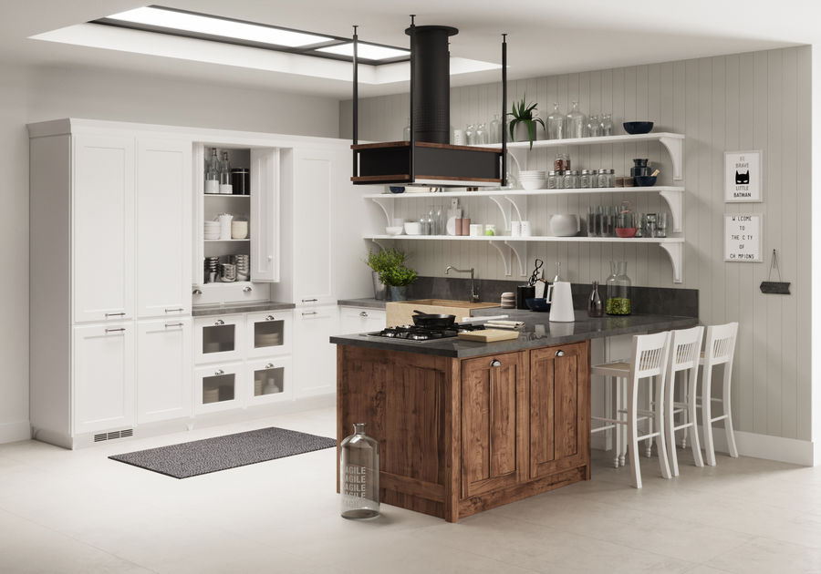 KEUKEN Scavolini 3 royalty-free 3d model - Preview no. 2