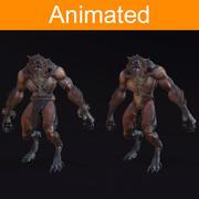 Personagem Lobisomem 3d model