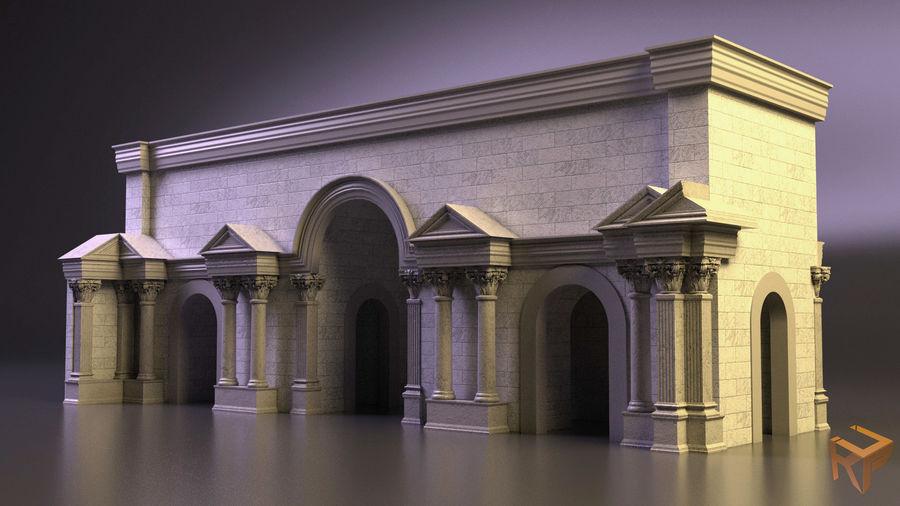 römischer Triumphbogen royalty-free 3d model - Preview no. 1