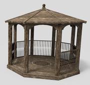 Садовая беседка 3d model