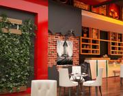 Nowoczesna kawiarnia 3d model