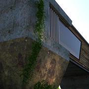 modern architecture 3d model