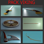 PAKIET VIKING (Blener, fbx, 3ds) 3d model