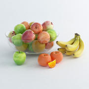 des fruits 3d model