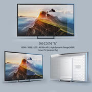 Sony XE94 / XE93 | LED | 4K Ultra HD | High Dynamic Range (HDR) | Smart TV (Android TV) 3d model
