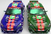 Wyścigi samochodowe D1 3d model