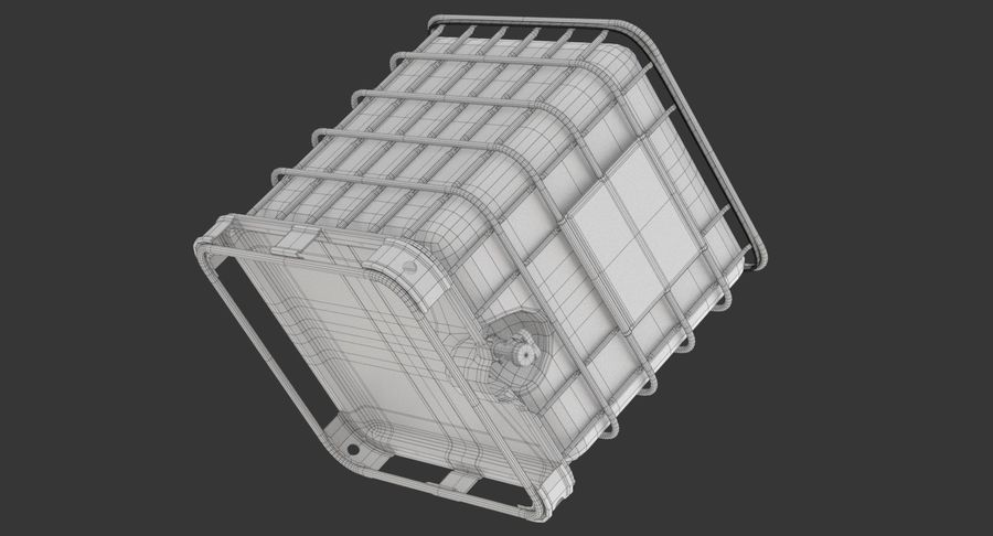 Wateropslagtank royalty-free 3d model - Preview no. 18