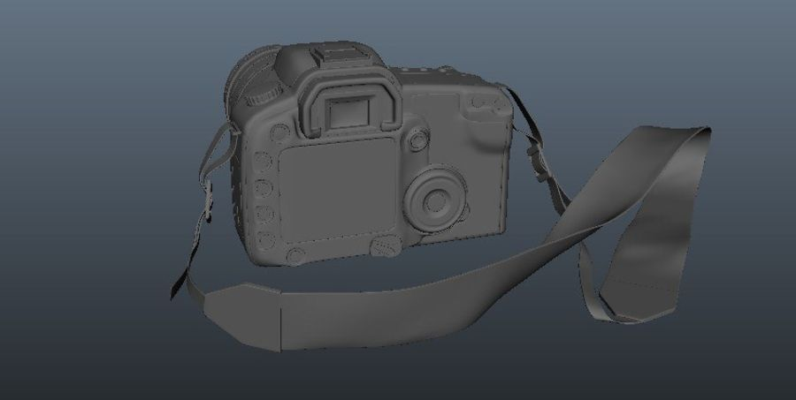 CANON 30D royalty-free 3d model - Preview no. 5