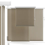 Vertical blinds 3d model