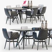 Freifrau Dining set_02 3d model