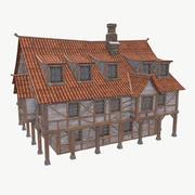 Medieval tavern/house 3d model