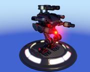 机甲 3d model