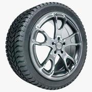 바퀴 3d model