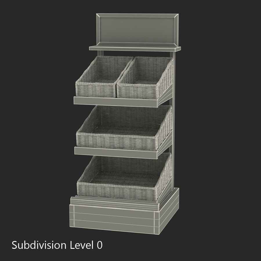 Bakery 3D Models Collection royalty-free 3d model - Preview no. 42